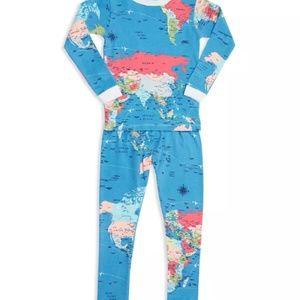 BedHead Pajamas - NWT BedHead Around the World 2 Piece Pajama Set